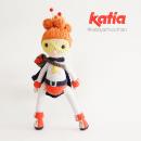 Yarnwoman. Un proyecto de Diseño de personajes, Artesanía, Diseño gráfico, Cómic, Pattern Design y Creatividad de Maria Sommer - 14.05.2018