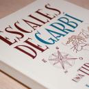 Escales de Garbí. Um projeto de Design editorial, Design gráfico e Tipografia de Gerard Soler i Coll - 15.06.2014
