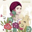 Cartel de Fiestas Bailén 2018. Um projeto de Design, Ilustração, Design gráfico, Design de cartaz e Ilustração digital de Laura Ortiz García - 23.05.2018