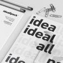 Ideallpack   Identidad. A Br, ing, Identit, Graphic Design, Packaging, and Naming project by Javier Real - 05.24.2018