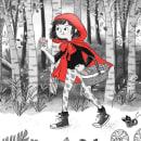 Caperucita Roja. Um projeto de Design de personagens, Ilustração e Ilustração infantil de Susana Gurrea - 01.06.2016