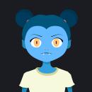Prueba Joysticks 'n Sliders - Cabeza 3D. Un proyecto de Motion Graphics, Animación, Diseño de personajes, Animación de personajes y Animación 2D de Mar Torrijos - 11.06.2018