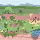 Pósters Didácticos. Un proyecto de Ilustración, Educación e Ilustración digital de alexis aldeguer - 15.06.2018