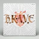 B.R.A.V.E. Covers. Um projeto de Música e Áudio, Direção de arte, Design gráfico, Tipografia, Caligrafia e Lettering de Miguel Ángel Hernández - 21.06.2018