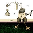 Me divierto un huevo en el jardín. Ilustración donada a Dibujos por Sonrisas. Gif.. Um projeto de Ilustração, Animação, Colagem e Ilustração digital de Vanesa Sindecualo - 22.06.2018