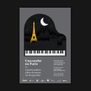 Una noche en París. Un projet de Design graphique, Papercraft , et Conception d'affiche de Adrián Heras - 26.06.2018