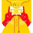 Semana de Cine Colombiano de Caliwood a La Habana. A Illustration, Graphic Design, Calligraph, and Poster Design project by Tinti Nodarse - 10.09.2017
