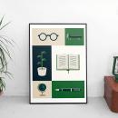 El Mirador. Un projet de Illustration, Direction artistique, Br, ing et identité , et Conception d'icônes de Adrián Heras - 12.07.2018
