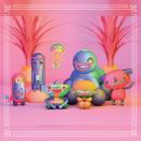 Amigos Ancestrales. Um projeto de Ilustração, 3D, Design de personagens e Criatividade de Esteban Ruiz - 15.07.2018