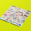 Exotic World Tours. Um projeto de Design editorial, Design gráfico, Design de informação, Infografia e Ilustração vetorial de Sebastián Allasino - 13.09.2017