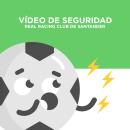 Teaser y Vídeo de Seguridad - Real Racing Club de Santander. Um projeto de Motion Graphics, Animação, Design de personagens e Animação de personagens de Fyero Studio - 19.07.2018