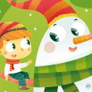 Merry Christmas. Ilustración infantil. Un proyecto de Ilustración de Laura García Mañas - 19.07.2018