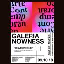 Poster Contemporary Art Gallery. Un proyecto de Dirección de arte y Tipografía de Paul Guerrero Bustamante - 10.06.2018