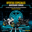 Aniversario Yamaha Chile 2018. Un proyecto de Diseño, Ilustración, Diseño Web y Redes Sociales de David Pérez Baeza - 02.07.2018