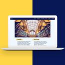 Web responsive || JK Rowling. Um projeto de Design, UI / UX, Design gráfico, Web design, Desenvolvimento Web e Criatividade de Andrea Teruel - 21.08.2018