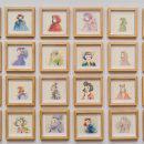 Nuevo proyectoHabitante: 70 small drawings. . Um projeto de Desenho, Ilustração e Pintura em aquarela de Violeta Hernández - 23.08.2018