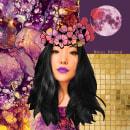 . Jenna .. Um projeto de Moda, Design gráfico, Pós-produção, Colagem, Social Media, Criatividade, Fotografia com celular e Ilustração de retrato de Emi Navarrete - 27.08.2018