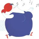 Doña Rotonda y Don Peatón. Un proyecto de Diseño, Ilustración, Diseño editorial, Educación, Diseño gráfico, Creatividad e Ilustración digital de Marina Hdez Ávila - 03.06.2018
