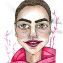 Mi Proyecto del curso: Retrato ilustrado en acuarela. Um projeto de Ilustração de Carolina Castillo Contreras - 05.09.2018