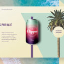 Clipper. A Art Direction, Br, ing, Identit, and Web Design project by Alex Zorita - 09.19.2018