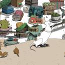Mondo Babosa. Um projeto de Ilustração e Ilustração digital de Mariano Diaz Prieto - 21.09.2018