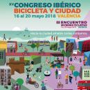 XV Congreso Ibérico Bicicleta y ciudad. Un proyecto de Diseño gráfico de Comboi Gràfic - 19.05.2018