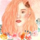 Mi Proyecto para el curso de retrato ilustrado en acuarela. Um projeto de Criatividade, Pintura em aquarela e Ilustração de retrato de Gina Rosero M - 28.09.2018