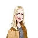 Maniac. Annie Landsberg. Ilustración. Un proyecto de Ilustración, Diseño de personajes, Dibujo y Concept Art de Paloma G - 29.09.2018