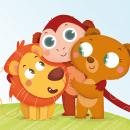 Veo Veo. Editorial Edebé. Ilustración infantil. Un proyecto de Ilustración, Diseño de personajes e Ilustración digital de Laura García Mañas - 11.09.2018