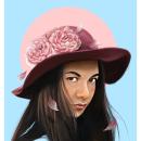 Karen / Pintura Digital. A Illustration, Digital illustration, Portrait illustration, and Realistic drawing project by Erick Aguilera - 10.15.2018