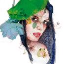 Mi Proyecto del curso: Retrato ilustrado en acuarela. A Painting, Creativit, Drawing, Digital illustration, Portrait illustration, and Portrait Drawing project by María Azucena Arizo - 10.16.2018