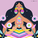 Mujeres Ilustradas. Un proyecto de Ilustración, Ilustración vectorial e Ilustración digital de Ely Ely Ilustra - 19.10.2018