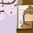 Akira. Ilustración para cuento infantil. A Digital illustration project by Mónica Bordanova - 10.17.2016