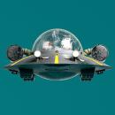 RICK SPACESHIP. Un proyecto de 3D, Animación 3D y Modelado 3D de Billy Bologna - 30.10.2018