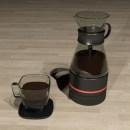 Kahvi, cofee maker -Product design. Un proyecto de Diseño, 3D, Diseño de complementos, Diseño industrial, Diseño de producto, Escenografía, Creatividad y Fotografía de producto de Amaya Luzon Franco - 04.11.2018