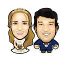 Matritoons (Cartoons para matrimonios). Um projeto de Ilustração, Publicidade, Design gráfico, Caligrafia, Ilustração vetorial, Ilustração digital e Ilustração de retrato de felipe tascon muñoz - 05.11.2018