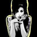 Portrait. Un proyecto de Diseño, Ilustración, Bellas Artes, Diseño gráfico, Pintura, Arte urbano, Bocetado, Dibujo, Ilustración digital, Ilustración de retrato, Concept Art, Dibujo de Retrato y Dibujo realista de Isa - 05.11.2018