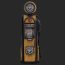 Vintage gas-station pump. A 3D, 3d modeling, and Video game project by Julia Rangel - 11.06.2018