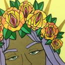.PUSSY QUEEN.. Um projeto de Design, Ilustração, Design de personagens, Artesanato, Pintura, Colagem, Papercraft, Criatividade, Concept Art e Desenho artístico de Cath Vel - 08.08.2018
