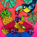 .JUEGA VIVO.. Um projeto de Design, Ilustração, Design de personagens, Artesanato, Pintura, Colagem, Papercraft, Criatividade, Ilustração de retrato, Concept Art e Desenho artístico de Cath Vel - 15.03.2018