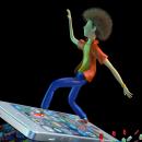 Social Surfer. Um projeto de 3D, Design editorial, Ilustração digital e Design de personagens 3D de Edward Abreu - 07.11.2018