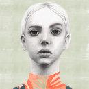 Mi Proyecto del curso: Retrato con lápiz, técnicas de color y Photoshop. Un proyecto de Ilustración de Gloria Gómez - 14.11.2018