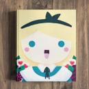Cover Alice in Wonderland - Children's Book. Um projeto de Design editorial e Ilustração de Sara Gummy - 02.09.2018