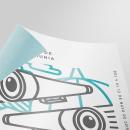23 Festival de cine de La Amunia | Educar la mirada  . Um projeto de Br, ing e Identidade, Design de cartaz e Design gráfico de Endika Gómez de Balugera - 23.07.2018