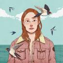 Chicas. Um projeto de Design de personagens, Ilustração e Ilustração digital de Marta Fernández - 19.11.2018