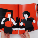Femichistas - libro feminista ilustrado. Un proyecto de Ilustración, Diseño editorial y Escritura de Elisenda Farrés - 20.06.2018