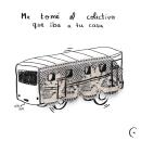 """Viñeta """"pucha que sad"""". Um projeto de Ilustração, Colagem, Comic e Ilustração digital de Chiari Barese - 30.10.2018"""