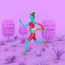 Keep Running. Um projeto de Ilustração digital de Edward Abreu - 23.11.2018