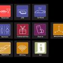 Italy's airport signs redesign. Um projeto de Diseño de iconos de Ale Ramírez - 28.08.2018
