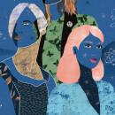 Gráfica día Internacional por la Despatologización Trans. El, ella, elle.. A Design, Illustration, Kunstleitung, Kreativität und Digitale Illustration project by Rebeca Zarza - 25.11.2018